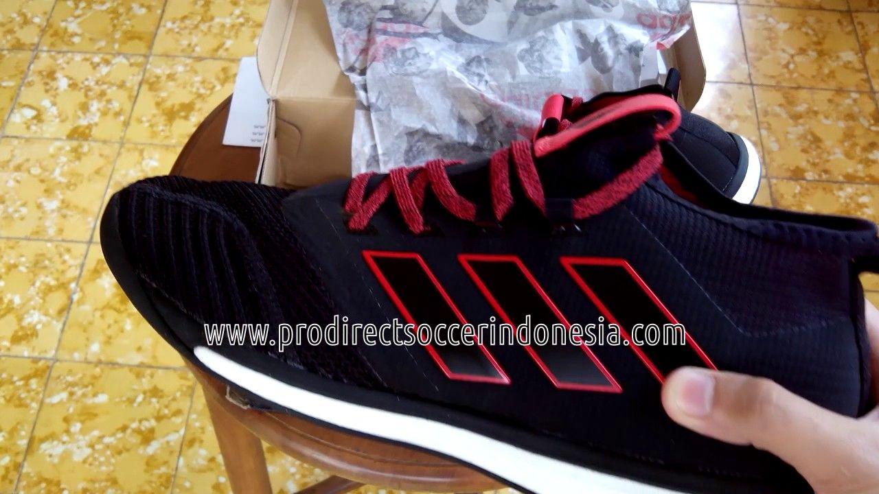 Sepatu Futsal Adidas Ace Tango 17 1 Tr Core Black Red Bb4431