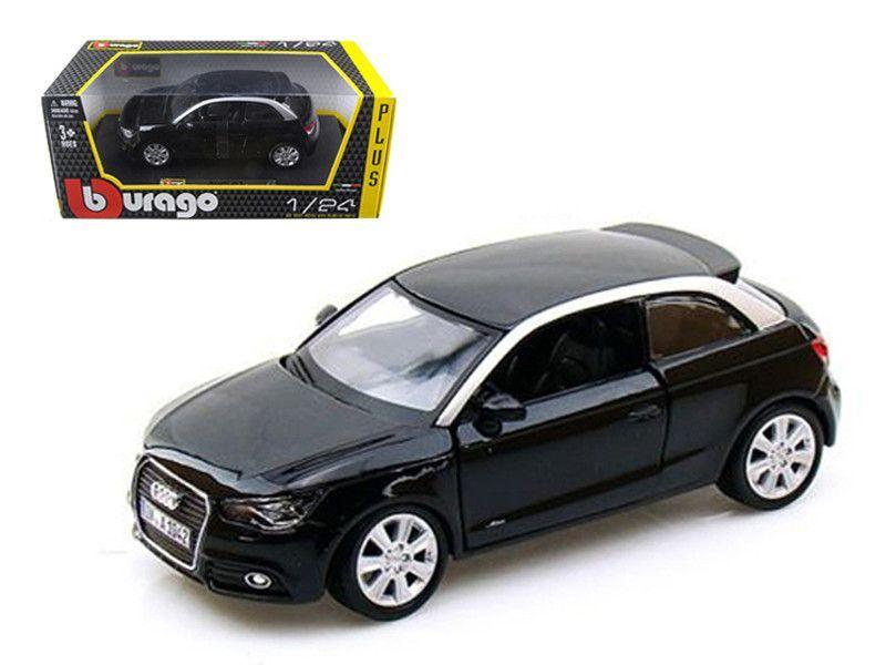 Audi A1 Black 1 24 Diecast Car Model By Bburago
