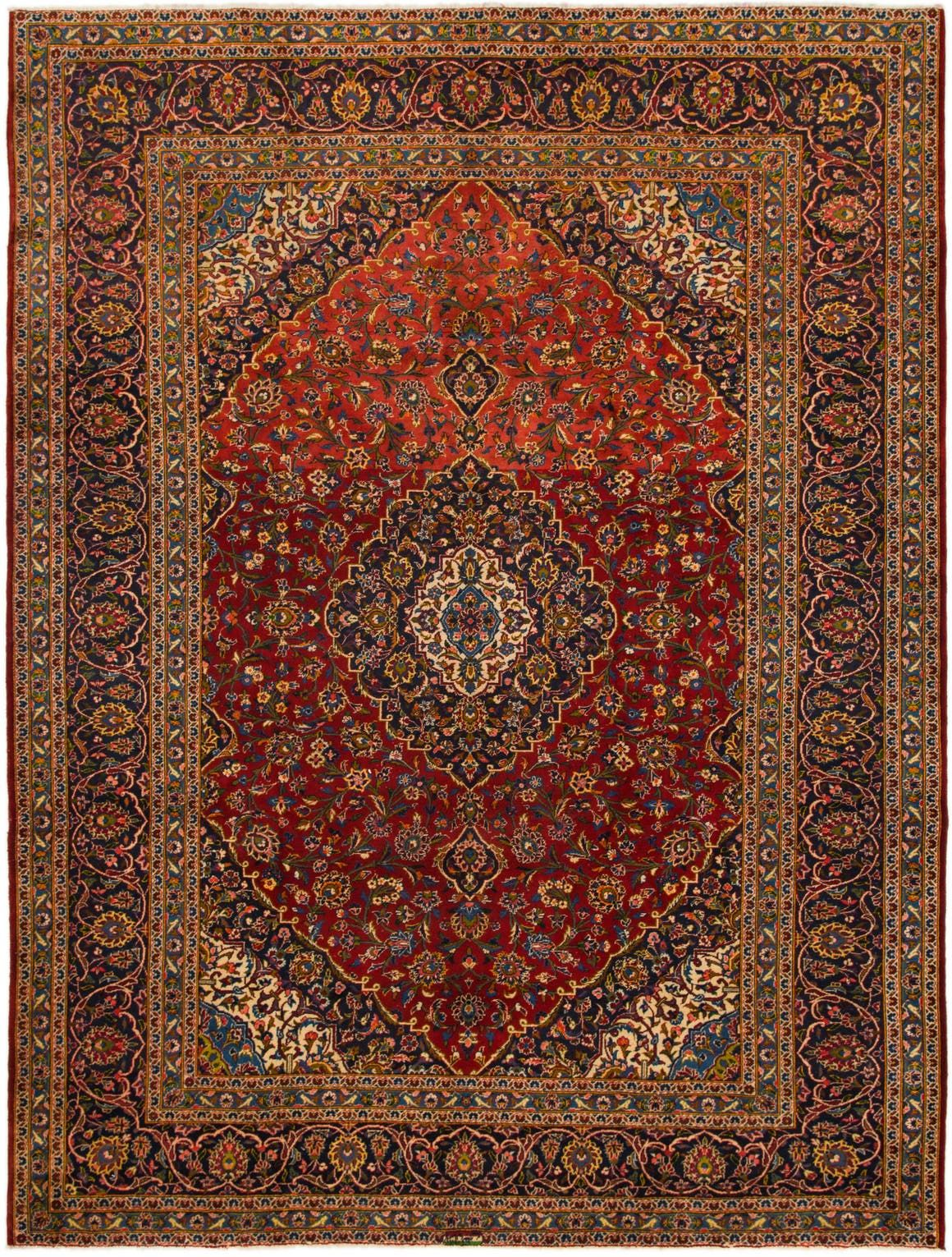 Kashan Red Antique 10x13 Large Area Rug In 2020 Rugs Persian Rug Large Area Rugs