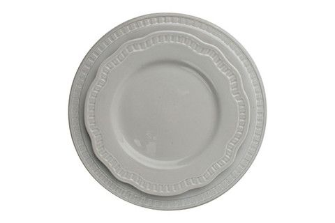 Ciara Dinner Plate in Grey