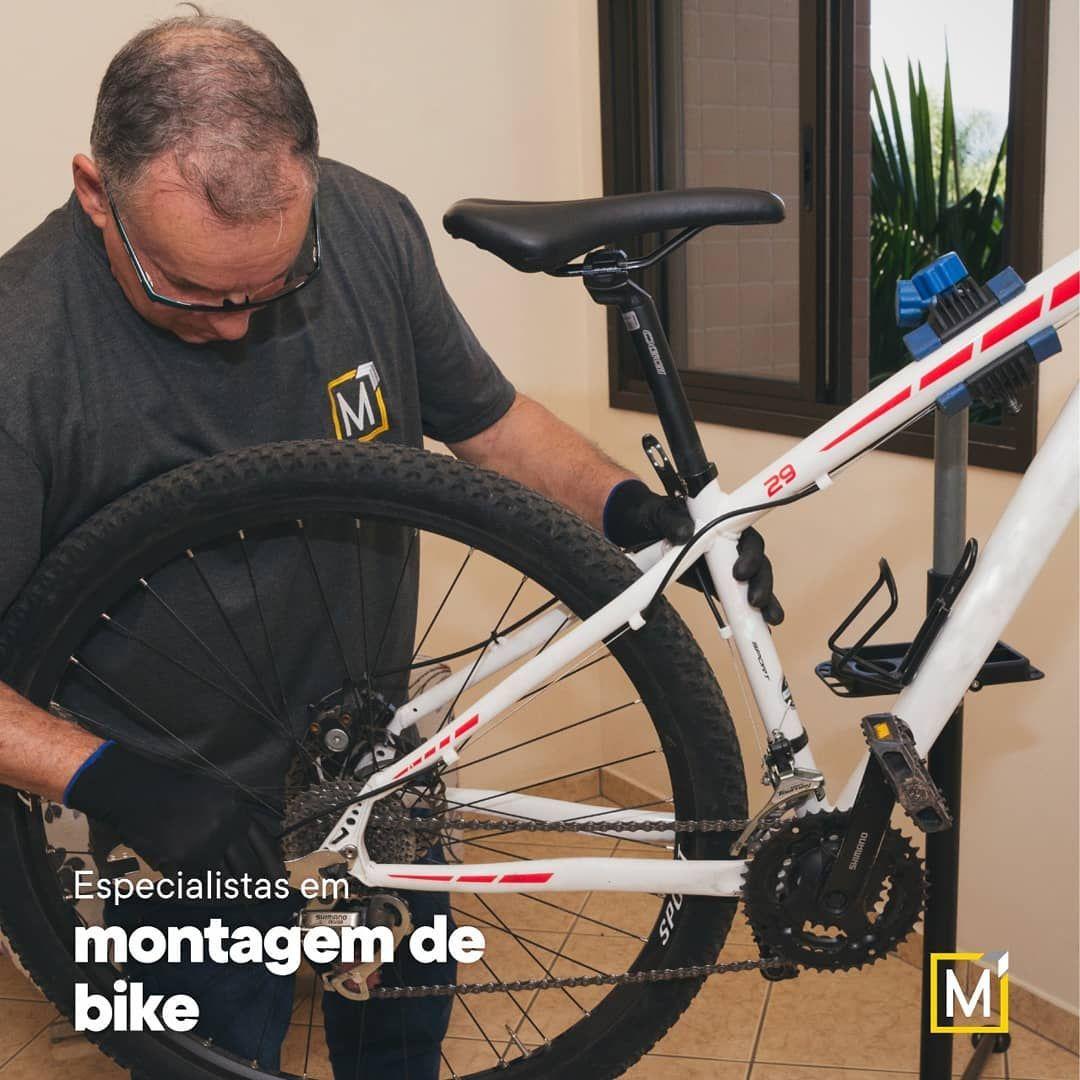 🚲 A sua bicicleta dos sonhos chegou? A gente monta pra você 😉 . ➡ Somos especialistas em montagem de...