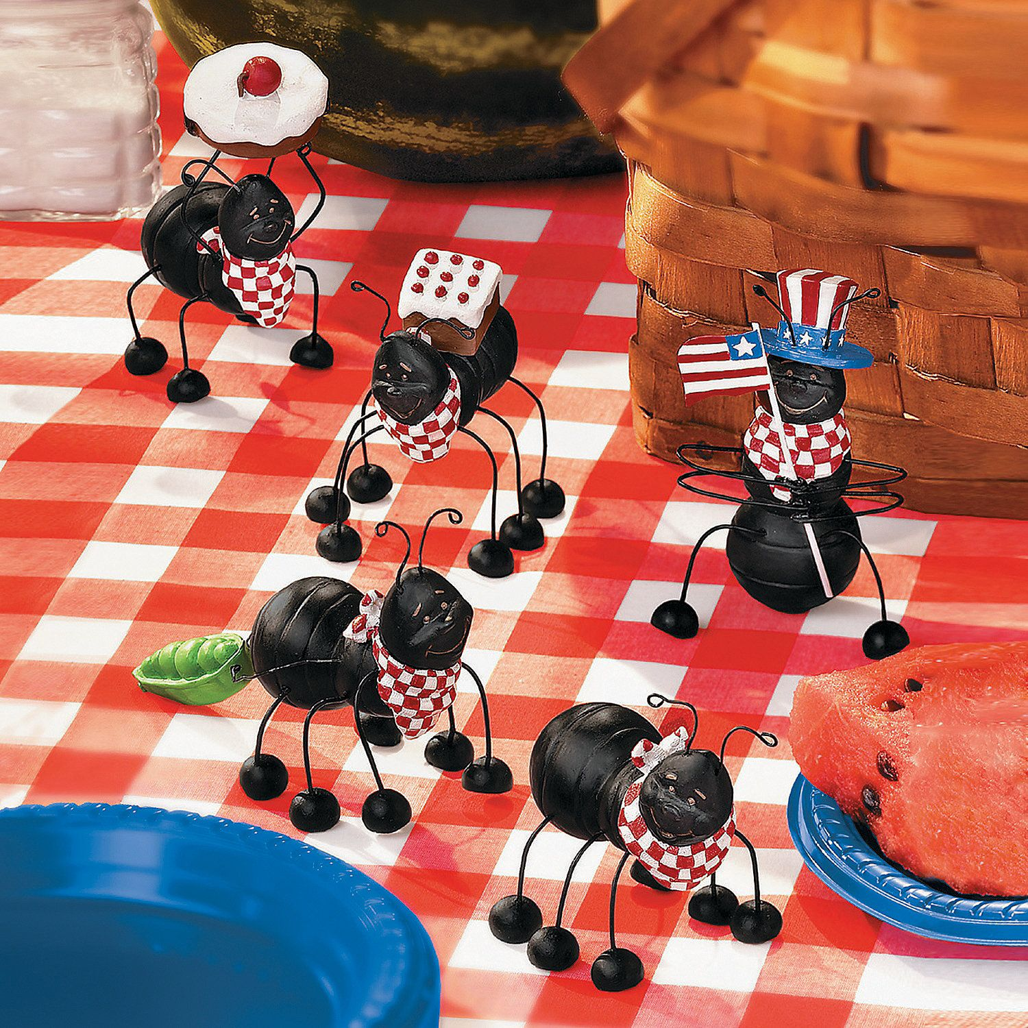 Picnic Themed Decorations Picnic Ants Orientaltrading 07 Holidays 4th Of