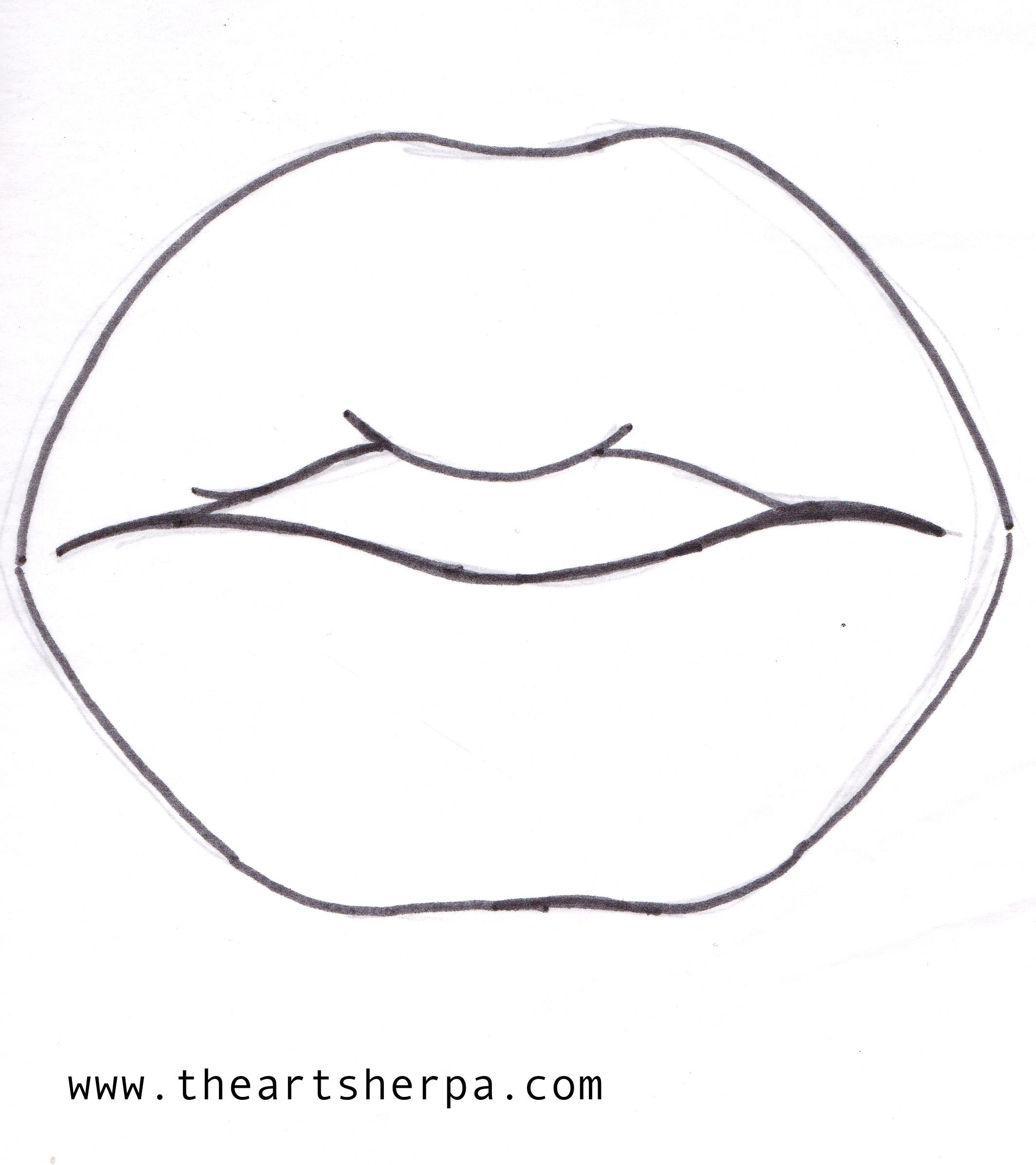 Lip Traceable For The Art Sherpa Lisafrankinspired Collaboration Www Theartsherpa Com The Art Sherpa Lips Painting Painting Canvases