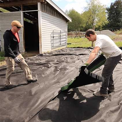 See How Lighthoof S Mud Control Panels Work By Stabilizing The Ground Your Horses Stand On Helping It Stay Dry And Mu Mud Management Horse Paddock Mud Control