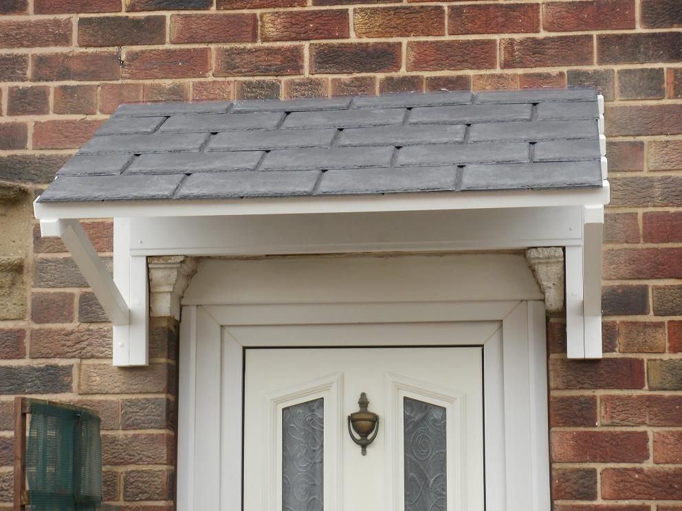 Minster Mono Pitch Door Canopy 1800mm Wide Diy 39 S