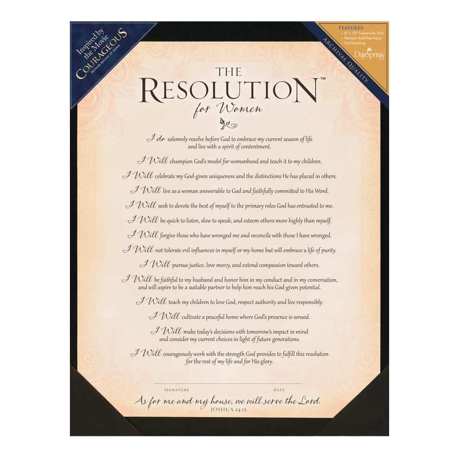 My courageous resolution inspirational for Death resolution template