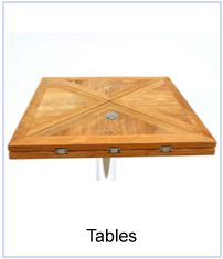 Teak Folding Boat Table