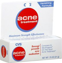 Cvs Acne Treatment Vanishing Formula 2 5 Benzoyl Peroxide Is Clinically Proven