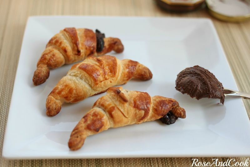 Croissants Pate A Tartiner