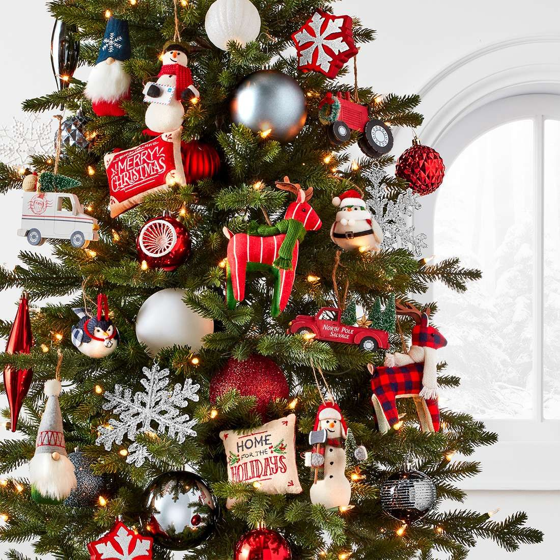 Ho Ho Ho It S The Season For Great Decor Shop Target For Christmas Ornaments Farmhouse Christmas Ornaments Christmas Ornament Sets Amazing Christmas Trees