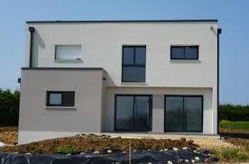 R Prix Maison Moderne Toit Plat House Facade Outdoor Decor