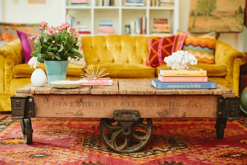 Inside This Interior Designers Colorful And Eclectic Home