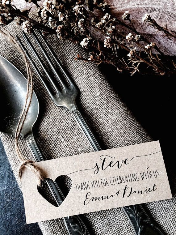 Place Cards, Wedding Place Cards, Wedding Name Tags, Name Tags ...