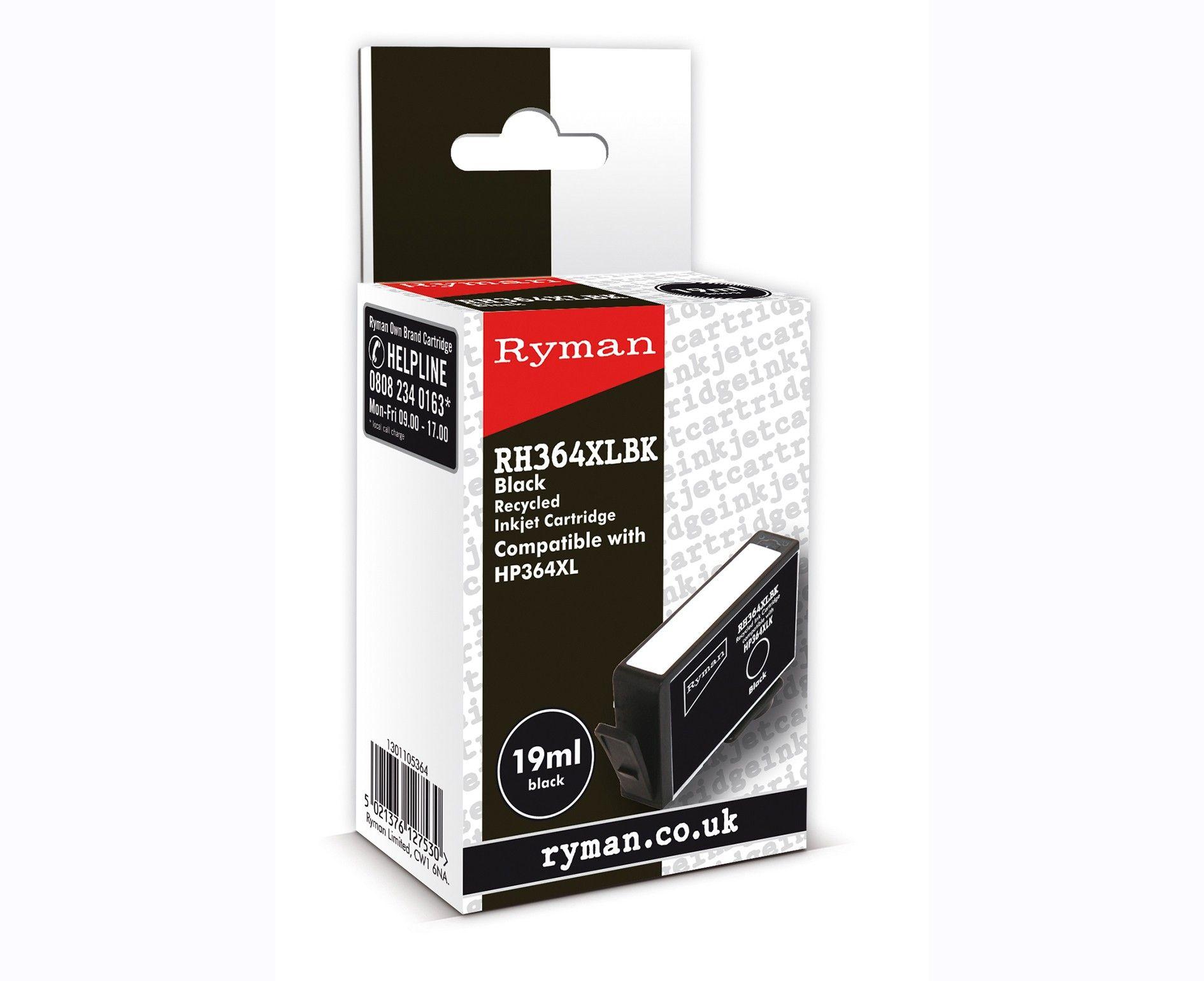 Ryman HP Inkjet Cartridge 364XL Ink cartridge