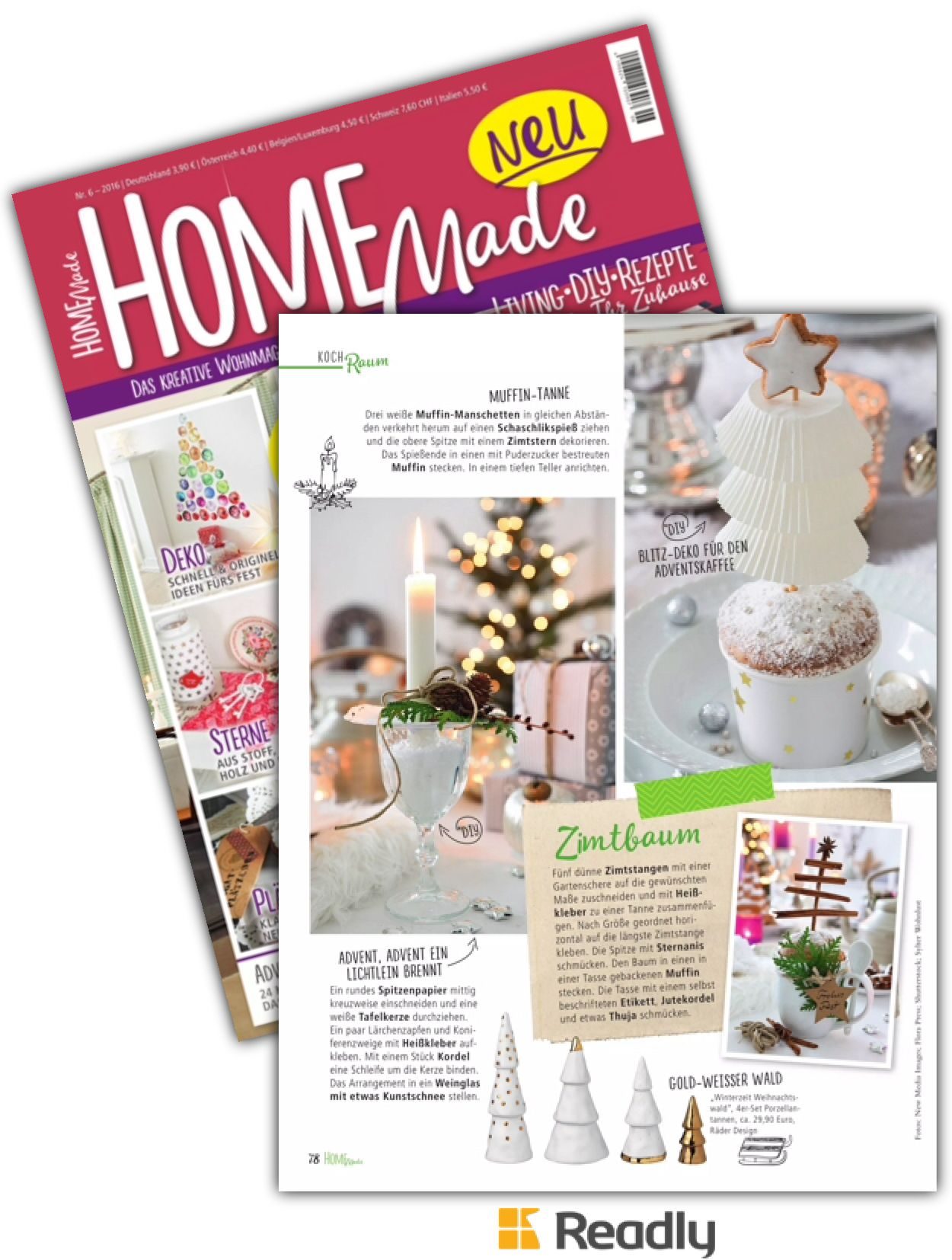 Suggestion About Homemade Das Kreative Wohnmagazin 06 16 Page 78