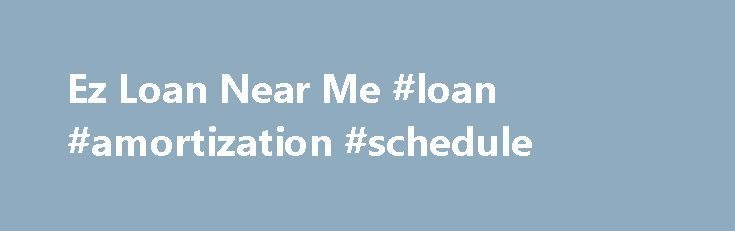 Ez Loan Near Me #loan #amortization #schedule    malaysia - loan amortization spreadsheet