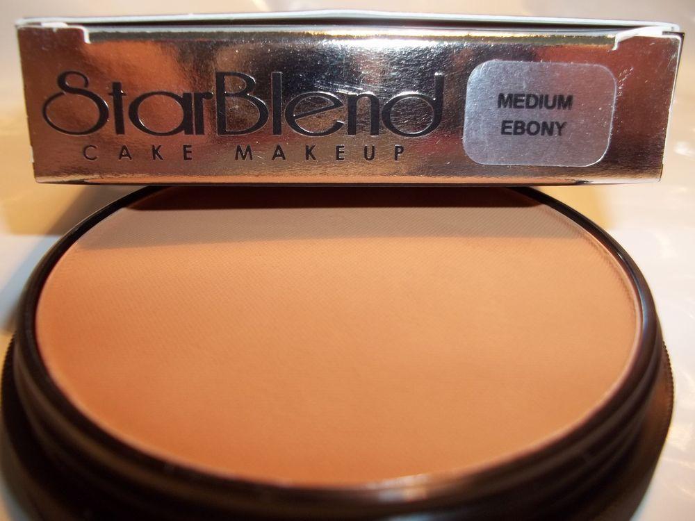 Mehron Star Blend Cake Pancake Water Base Makeup Dark Shades Professional Usa Mehron Makeup Base Dark Shades