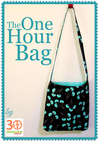 The One-Hour Bag | Pinterest | Tutorials, Bag and Free