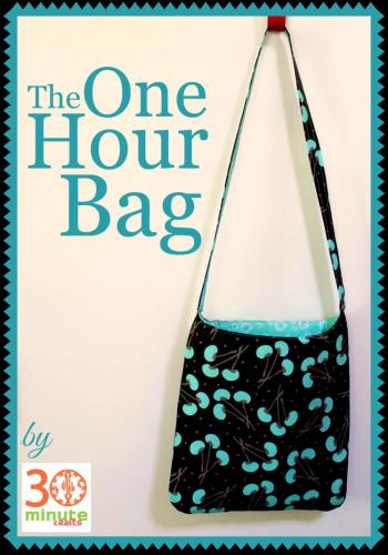 A Beginner\'s One-Hour Bag — Free Sewing Tutorial | Nähen, Etui und ...
