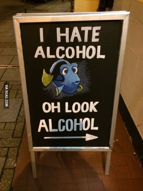 I saw this sign last night ...