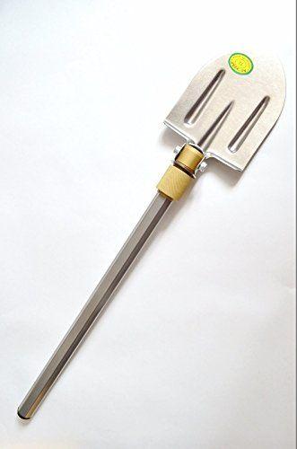 Titanium Army Shovel 100/%Titanium Hardwood Handle