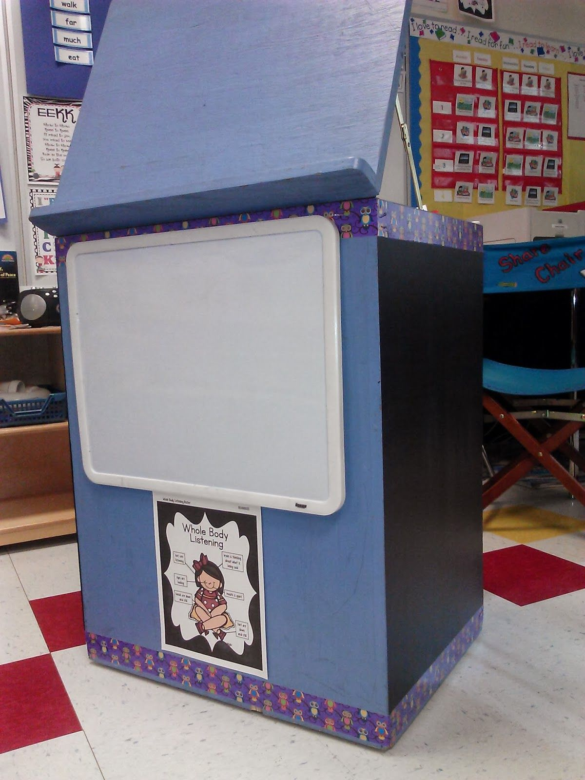 big book stand makeover easy and useful firstgradefaculty