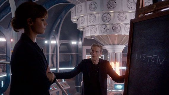 Doctor Who: 'Listen' has been nominated for a 2015 Hugo Award.The episode was the fourth of Series 8, and has been nominated • Doctor Who: 'Listen', written by Steven Moffat, directed by Douglas Mackinnon.• The Doctor Who stories, which have won in the past, include: The Empty Child / The Doctor Dances, The Girl in the Fireplace, Blink, The Waters of Mars, The Pandorica Opens / The Big Bang and The Doctor's Wife.The winners will be announced on Saturday, 22nd August 2015.