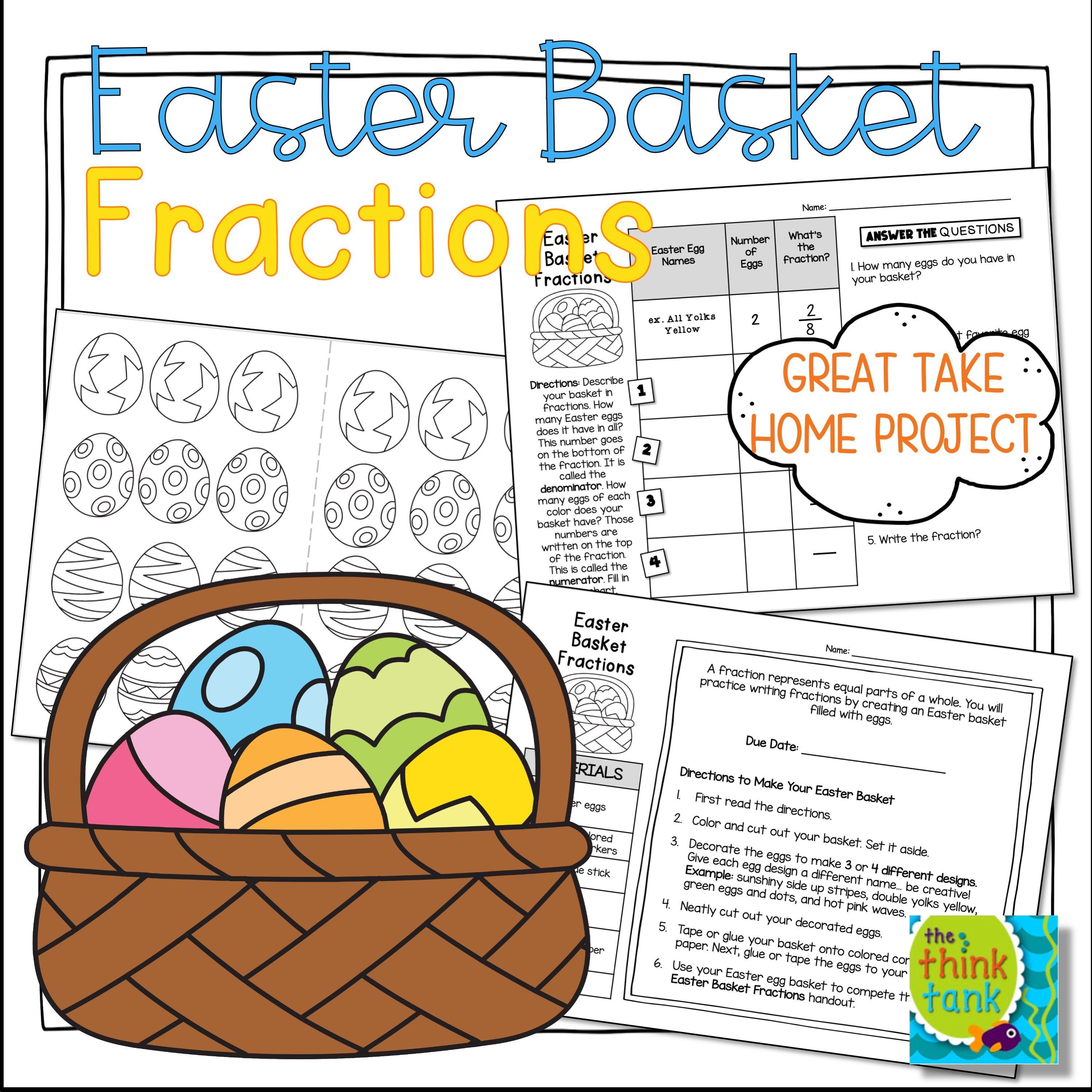 Easter Basket Fractions