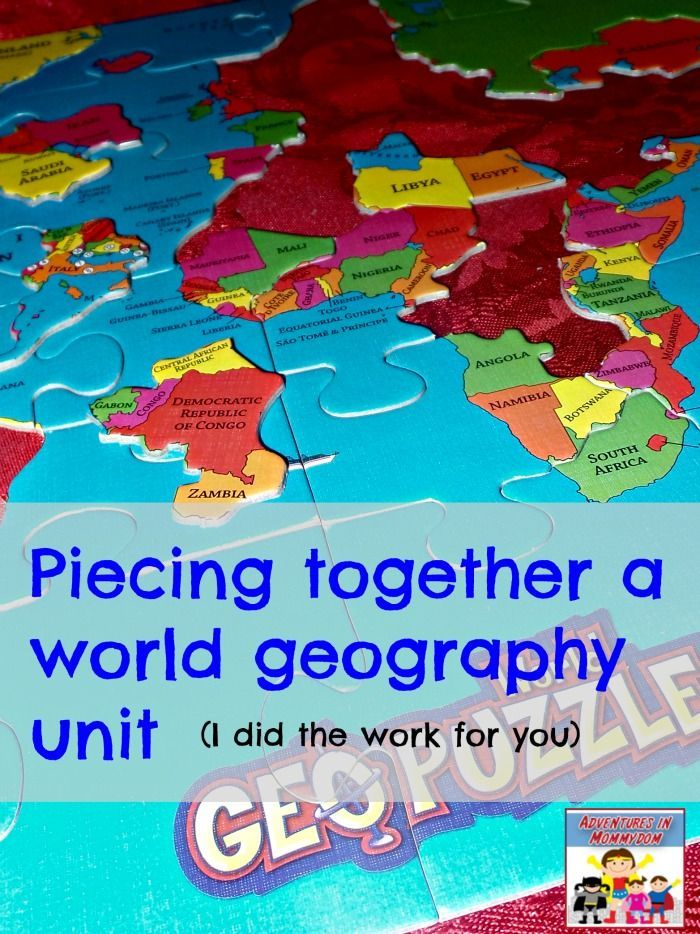how to teach geography to middle school