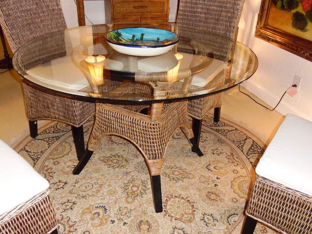 Exceptional Rattan And Glass Dining Set   Go To ChineseFurnitureShop.com For Even More  Amazing Furniture