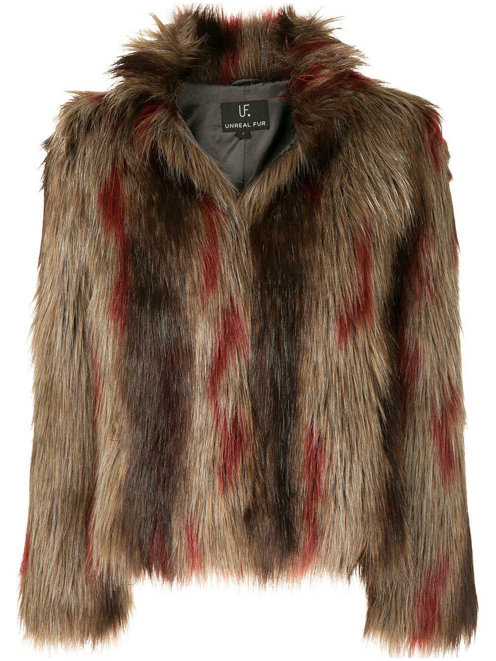 cloth Brown Jacket Unreal Delish Fur unrealfur nTRSO4X