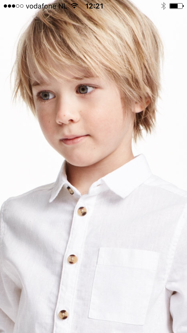 Kapsel Jongens Boy Haircuts Long Boys Long Hairstyles Kids Hairstyles