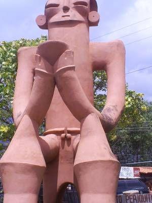 escultura antigua en merida venezuela