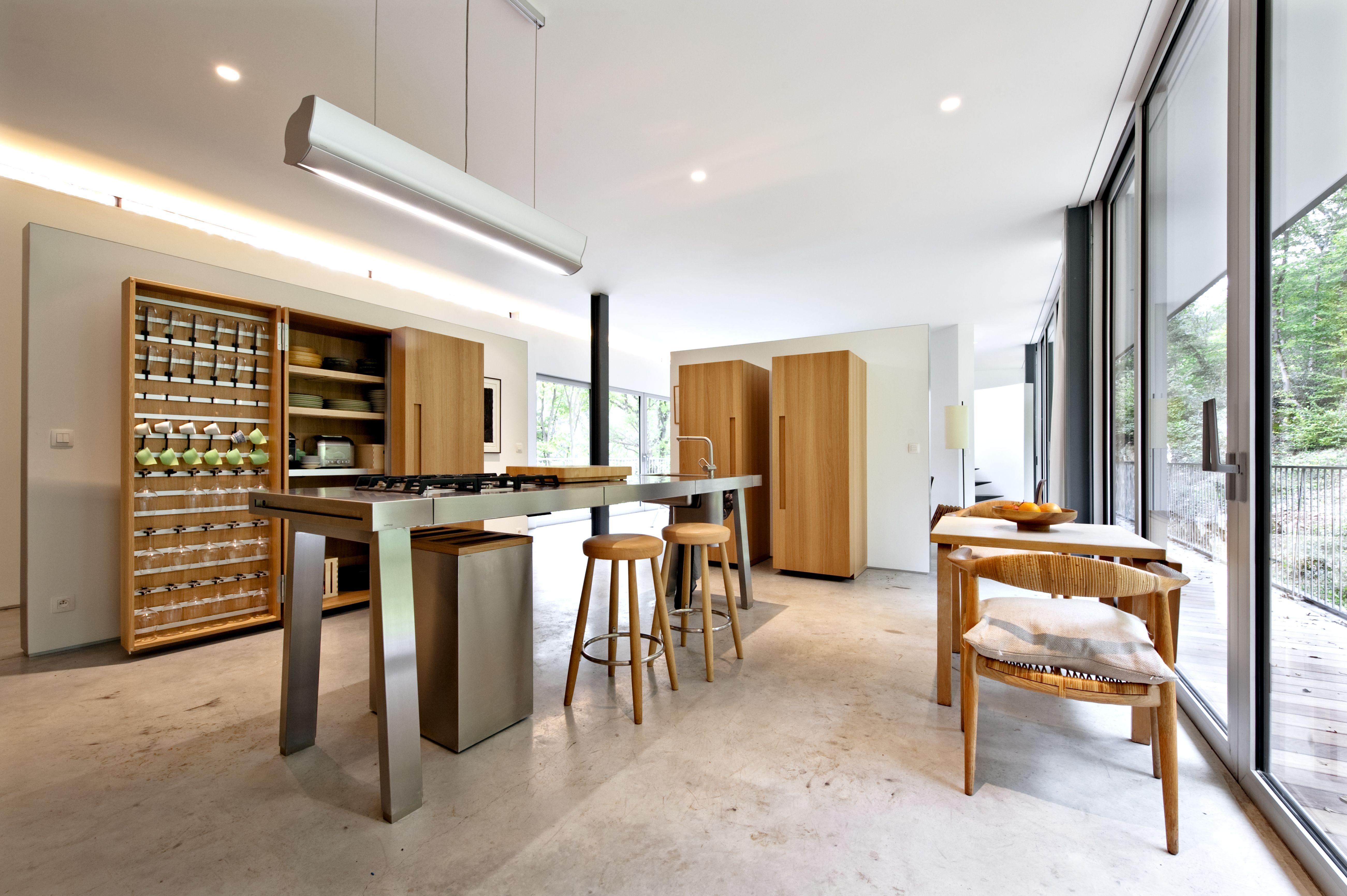 bulthaup cuisine b2 r alisation par the kitchen bulthaup belux kitchen realisations. Black Bedroom Furniture Sets. Home Design Ideas