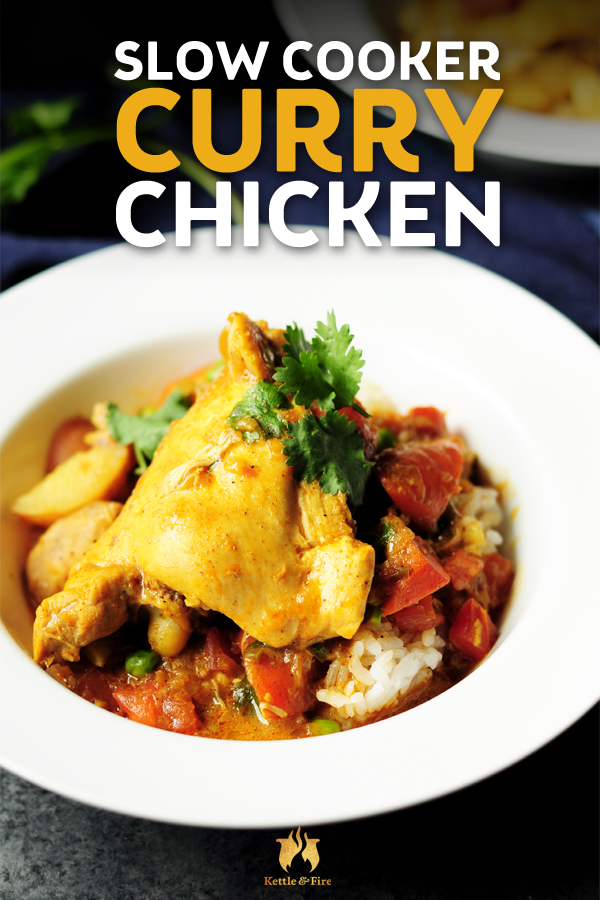 Easy Slow Cooker Curry Chicken Recipe You Ll Want To Share Recipe Slow Cooker Curry Curry Chicken Recipes Slow Cooker Chicken Curry