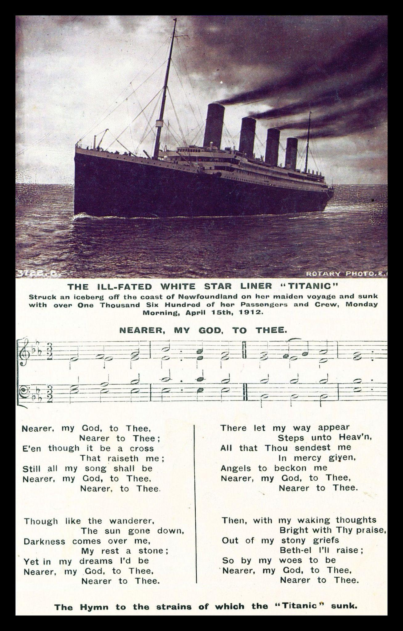 Titanic 100 100 Years Ago Tonignt The Sun Set On Titanic F Flickr