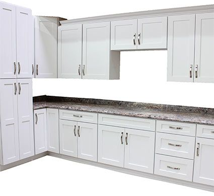 Artic White Kitchen Cabinets Willowbrook Kitchen