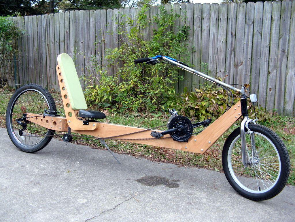 Plywood Frame Recumbent Atomic Zombie Bicycle Gallery Wood Bike Recumbent Bicycle Wooden Bicycle
