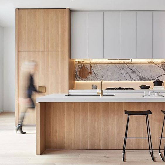 100+ Minimal Yet Elegant Kitchen Design Ideas   The Architects Diary.  Moderne KüchenSkandinavische ...