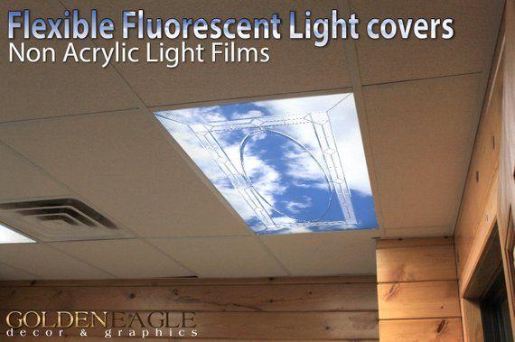Fluorescent Light Cover Films Skylight