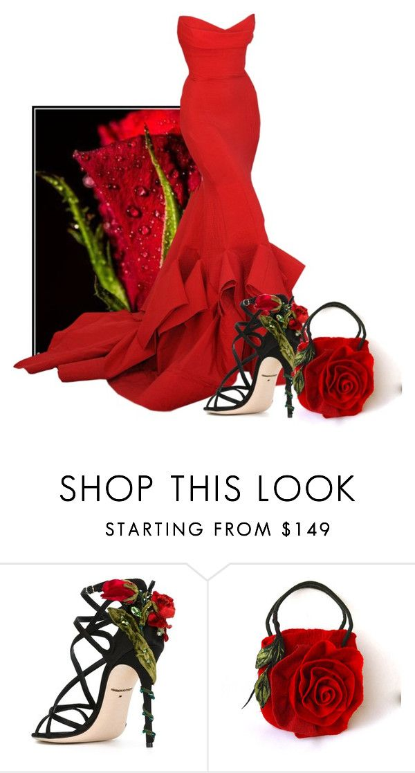 """Rose Bud"" by itsablingthing ❤ liked on Polyvore featuring Donna Karan and Dolce&Gabbana"