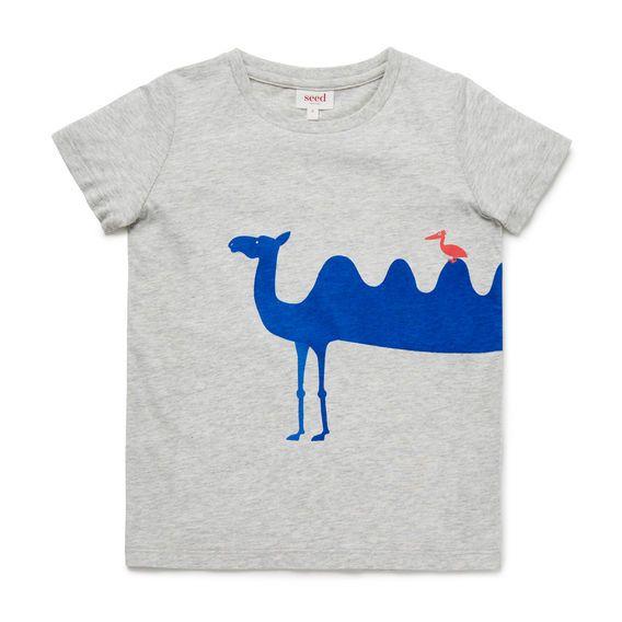 5ecad3be27c8 Camel Print Tee