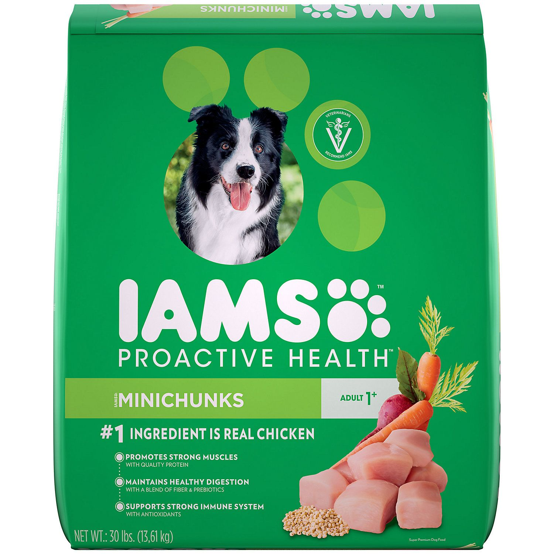 Iams Proactive Health Minichunks Chicken Dry Dog Food 30 Lbs