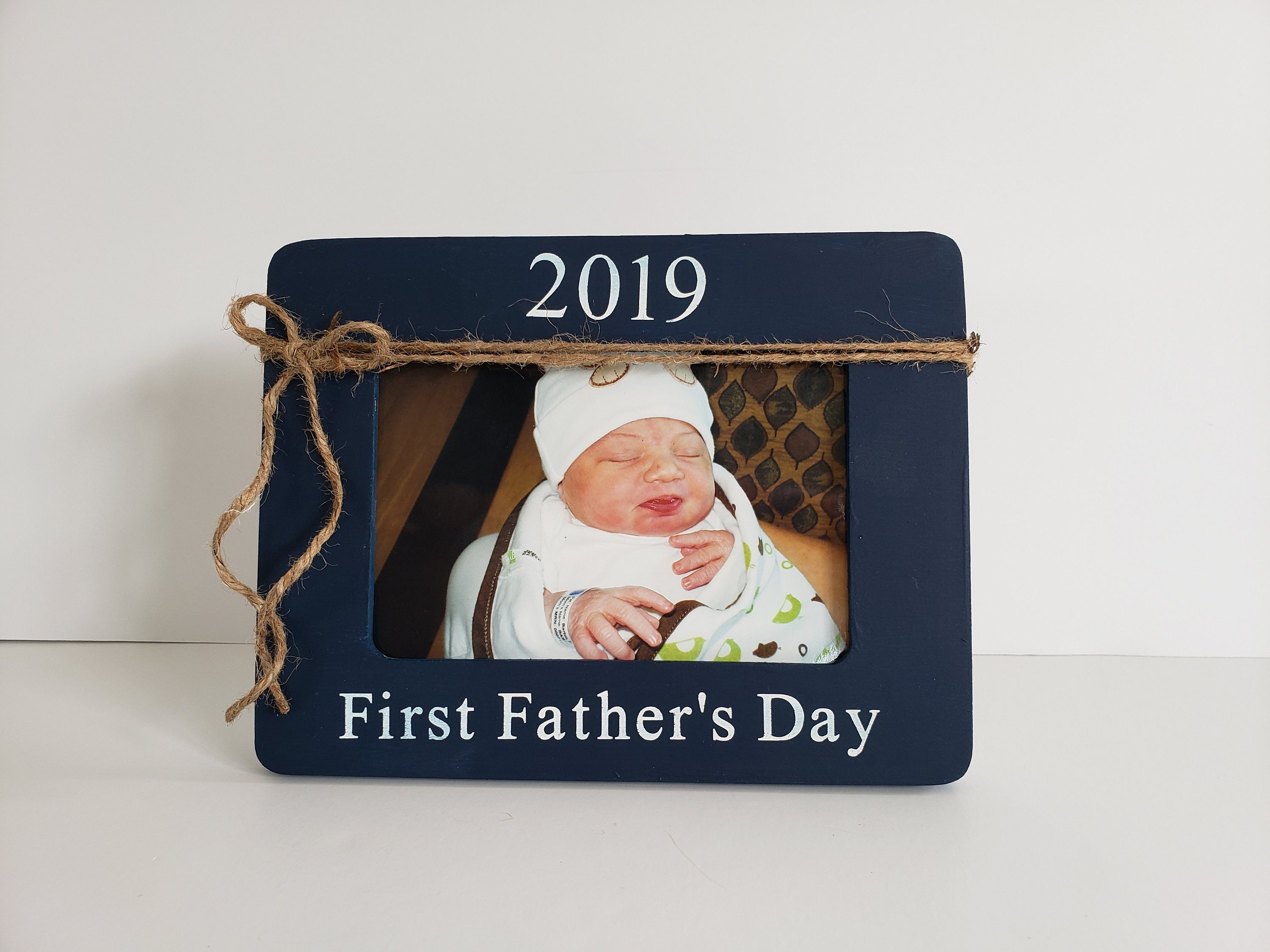 6x4/'/' First Father/'s Day Gift Fathers Day Gift Personalised Photo Frame