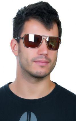 oakley inmate  Oakley Inmate Polished Chrome / VR28 Black Iridium - Oculos de Sol ...