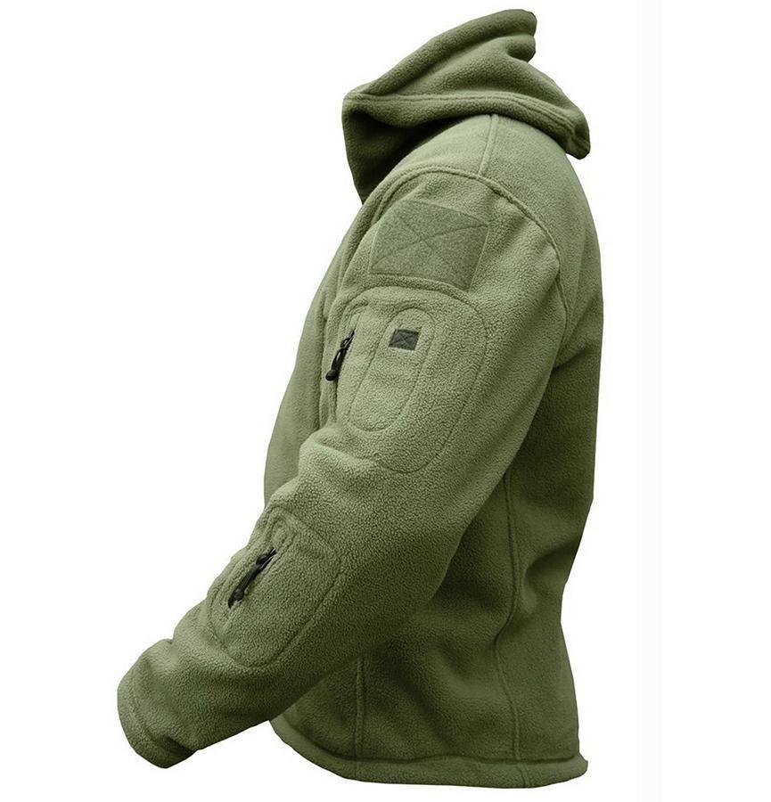 New Mens Fleece Recon Hoodie Miltary All Sizes unisex military design Warm