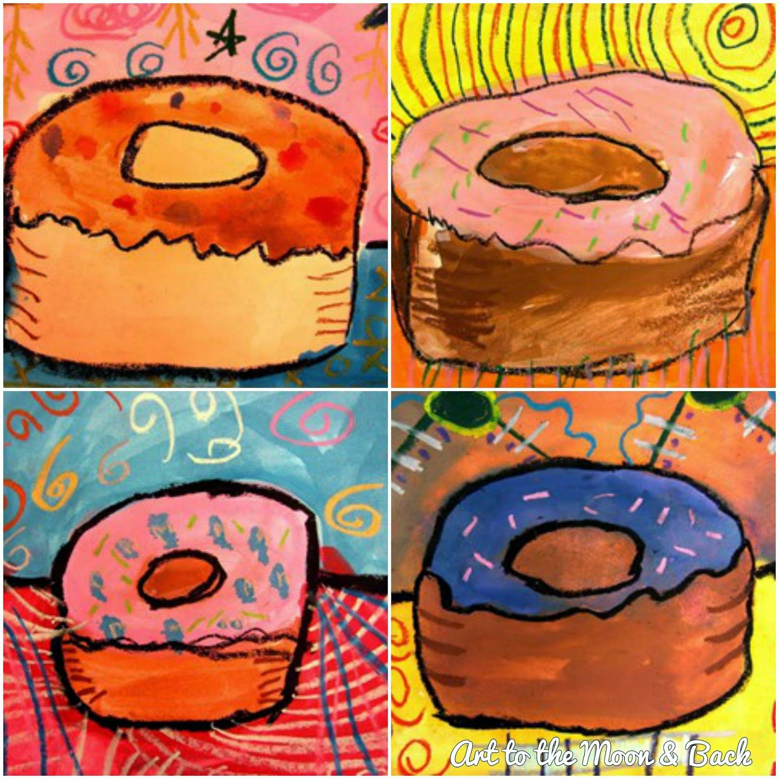 My Blog Nuts With Paint And Oil Pastels