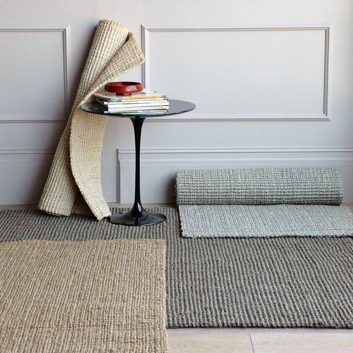 Jute Boucle Rug Clay Wish Rugs Modern Area