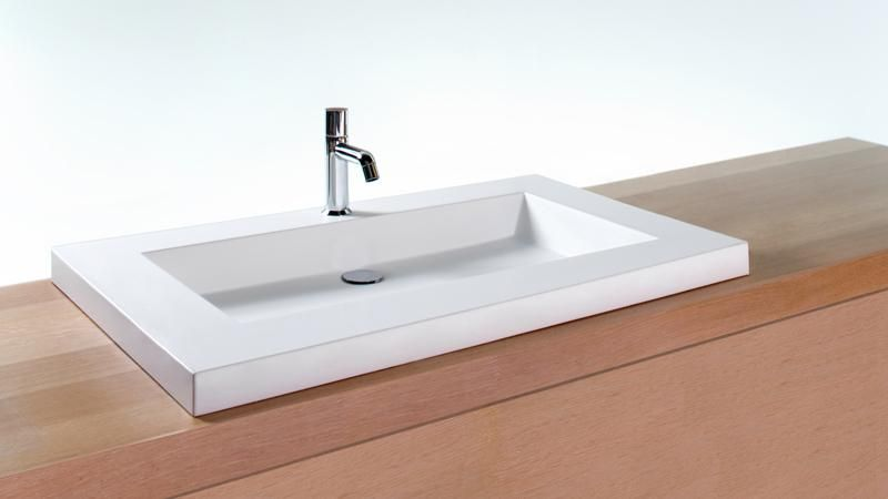 Vcs36 36 Bathroom Trough Sink Cube Collection Wetstyle Modern Bathroom Sink Sink Bathroom Sink
