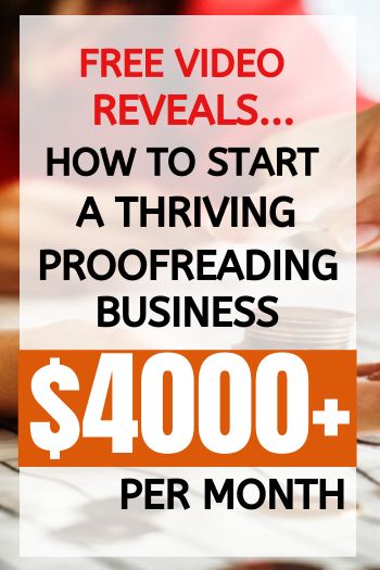 Learn The Skills You Need To Start A Successful Proofreading Business With This Free Workshop Proofreading Jobs Work From Home Careers Working From Home Meme